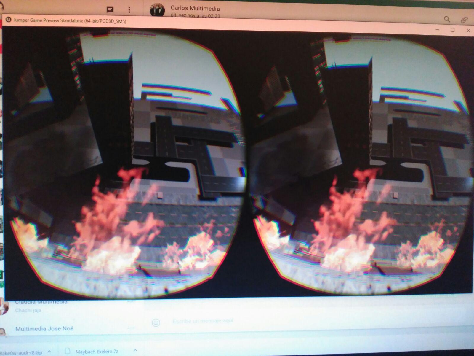 unreal engine 4 vr oculus rift sensations test