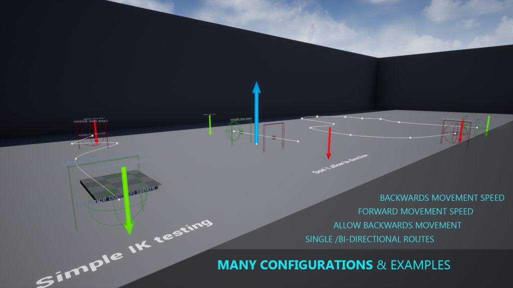 Preview of crawling system examples for unreal engine 4