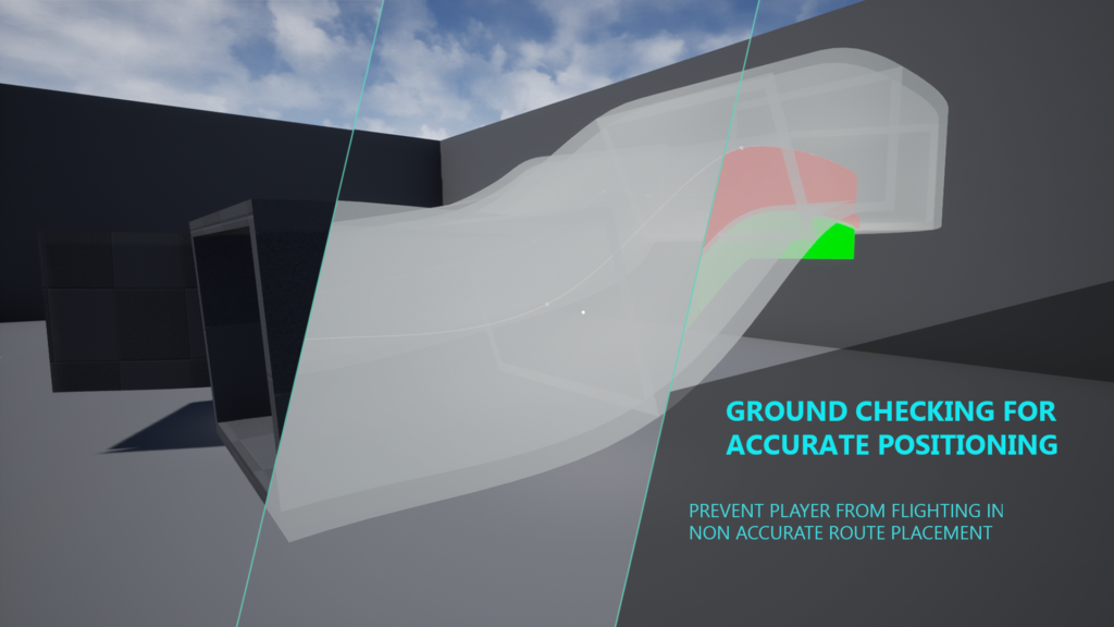 Preview of crawling system ground detection for unreal engine 4